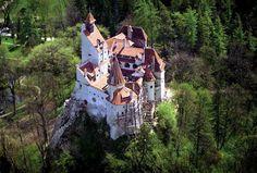 Bran Castle otherwise known as Dracula's Castle ~ Brosov, Romania