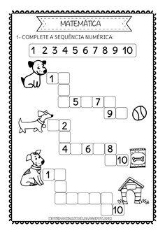 Notebook da Profª: Sequência numérica - Cachorrinhos