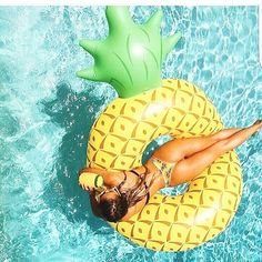 Giant Pineapple Floatie ₹2000/- only on www.cupidityonline.com #allthingsfun #newcollection #summerreadywithcupidity #floaties #summer2017 #poolparty