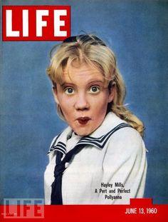 Life magazine, June 13, 1960 — Hayley Mills in Pollyanna