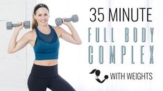 35-Minute Full Body Complex with Weights | Home Workout using Kettlebells and Dumbbells - YouTube