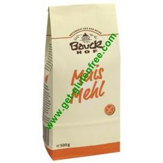 Αλεύρι Καλαμποκιού 500gr Bauckhof Free Products, Gluten Free, Glutenfree, Sin Gluten, Grain Free