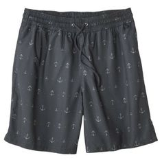 "Merona® Men's  8"" Anchor Print Swim Short"