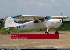 Cessna 170-A propriedade do Feijó e piloto Nilson