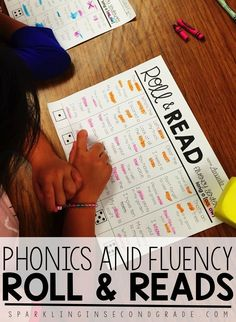 Phonics Fluency Roll