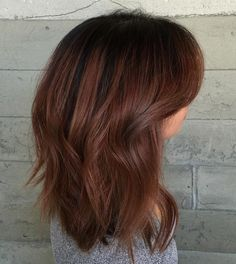 Brown Hair With Black Roots