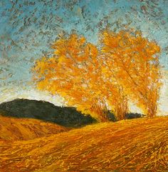 Poplars by Barbara A Lyman