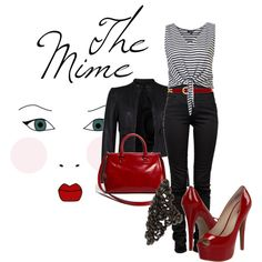 """""""Career Fashion- The Mime"""" by skybluchik89 on Polyvore"""