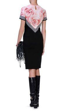 3/4 length dress - ROBERTO CAVALLI - 98% Viscose, 2% Elastane
