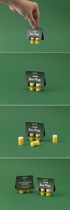 These Adorable Beer Plugs Would Make Your Festival Experience Way Better — The Dieline | Packaging & Branding Design & Innovation News