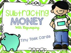 Subtracting Money with Regrouping