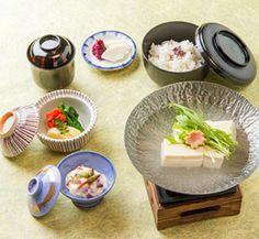 嵯峨豆腐コース 物集女京都嵐山の料亭・お食事処「京料理 とりよね」