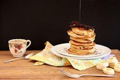 Peanut Butter Bacon Pancakes by joy the baker, via Flickr