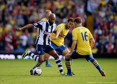 Flamini & Ramsey Take on Anelka vs West Bromwich 2013-2014.