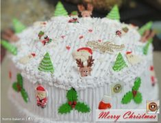 Wishing you a Season of Gladness, a Season of Cheer, and to top it all, a Wonderful Year! Merry Christmas Everyone! Merry Christmas Everyone, Occasion Cakes, Doughnuts, Cheer, Bakery, Birthdays, Treats, Seasons, Desserts