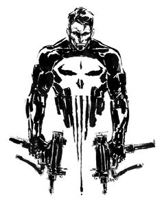 THE PUNISHER by ~aaronminier on deviantART