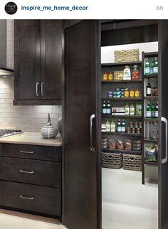 Peek a new pantry!