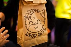 Goody bags at our London store www.iheartdropdead.com
