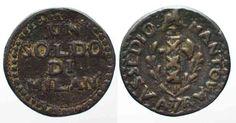 1799 Italien - Mantua MANTOVA 1 Soldo ASSEDIO AUSTRO-RUSSO A.7(1799) bronzo BB+ # 77053 ss+ Bb, Personalized Items, Antiquities