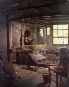 The Breton Weaver, by Paul Sérusier