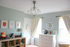 Sherwin Williams : sea salt  THIS is the color I meant to paint the nursery!
