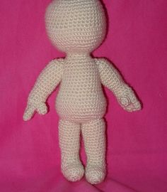 gratis free:NIN amigurumi doll unisex free pattern NIN is my basic unisex amigurumi doll a free pattern that allow you to create a chubby body and then transform it into your favourite character.