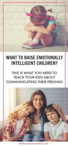 Help Your Children Understand Their Emotions and Develop Into Emotionally Intelligent People #christianparentingtips