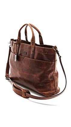 Frye Logan Zip Top Bag $528