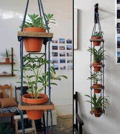 Easy DIY plant holders - LECOMPTOIR