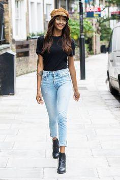 Jourdan Dunn Photos - Jourdan Dunn is seen out and about on September 2017 in London. - Jourdan Dunn Is Seen Out in London Fashion Pants, Fashion Models, Fashion Outfits, Fashion Designers, Style Fashion, Geek Mode, Outfits Tipps, Jourdan Dunn, Victoria
