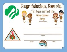 Brownie My Promise, My Faith Award - Year 1 Certificate Girl Scout Brownie Badges, Brownie Girl Scouts, Girl Scout Daisy Activities, Girl Scout Crafts, Girl Scout Leader, Girl Scout Troop, Brownies Girl Guides, Girl Scout Promise, Girl Scouts Of America