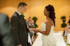 Jade and Paul's civil wedding ceremony at the Manchester Marriott V & A Hotel