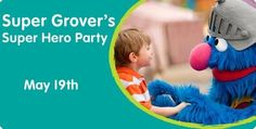 Super Grovers Super Hero Party
