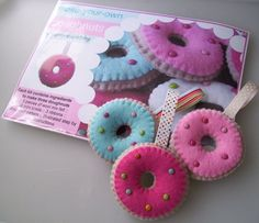 DIY Make-Your-Own Donuts Kit by paperandstring on Etsy