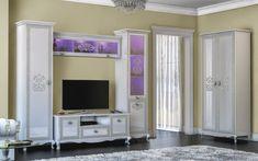 Гостиная «Винтаж» - современное прочтение роскошной элегантности. Это приобретение станет удачным и для классического интерьера. Светлая мебель подчеркнёт элегантность и сдержанность стиля интерьера.
