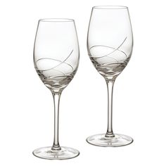 Waterford Ballet Ribbon Essence 14 oz. White Wine Glass - Set of 2 - 149701