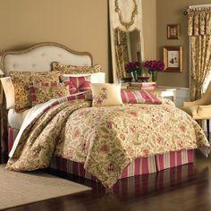 Constance 7-Piece Reversible Comforter Set - Bed Bath & Beyond ($100)
