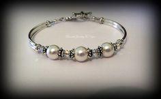 Pearl Wedding Bracelet: Bridesmaid Bracelet Bridesmaid