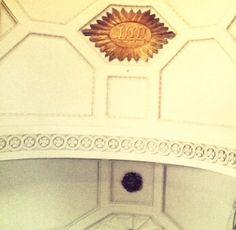 Tetragrammaton on the ceiling of the Church Bar in Ireland