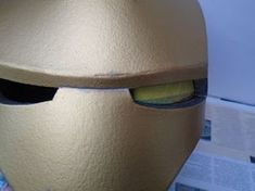 Build an Iron Man Helmet for Cheap!: 10 Steps (with Pictures) Iron Man Helmet, Lenses, Building, Pictures, Helmets, Projects, Costumes, Top, Mascaras