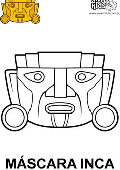 Máscara Inca!