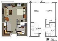 Bon Image Result For Small Studio Apartment Plan