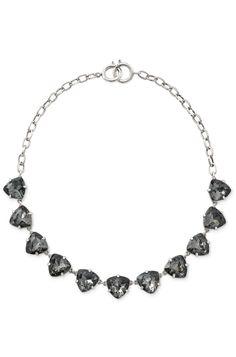 Stella & Dot Black Somervell Necklace