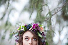 wedding flowers utah calie rose bright romantic head wreath