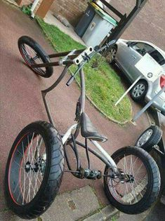 New Cruiser Bike Ape Hangers 23 Ideas New Cruiser Bike Ape Hangers 23 Ideas Bike Tricycle Bike, Trike Bicycle, Lowrider Bicycle, Trike Motorcycle, Cruiser Bicycle, Motorized Bicycle, Custom Velo, Custom Trikes, Cool Bicycles