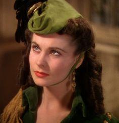 Walter Plunkett - Costumes - Robe Velours Vert - Vivien Leigh - Autant en emporte le Vent - 1939