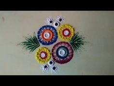 latest rangoli designs - YouTube