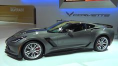 MOTRFACE.com - 2015 C7 Corvette Stingray Z06 Shark Grey Metallic - video...
