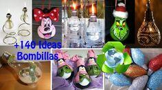 Reciclaje de Bombillas +140 Ideas / Recycling Bulbs +140 Ideas