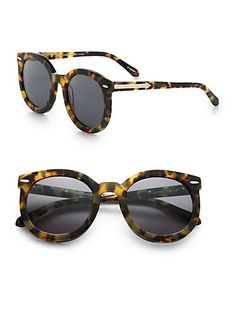 Karen Walker Tortoise Circle Chic